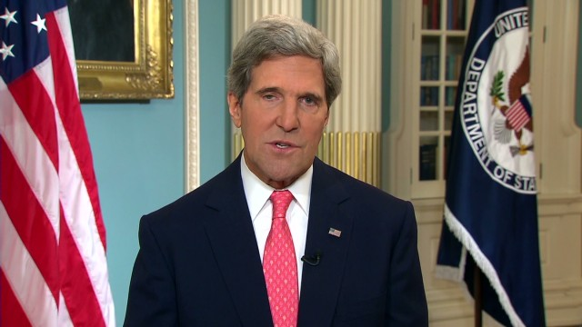 Kerry: Evidence of sarin gas in Syria