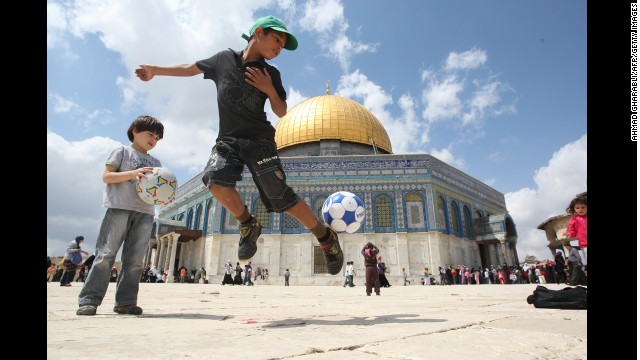 Photos: A look inside Jerusalem