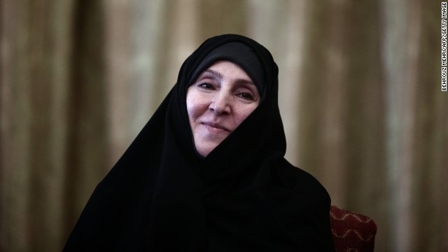 Iranian new Foreign Ministry spokeswoman, Marzieh Afkham takes over her position in Tehran on September 1.