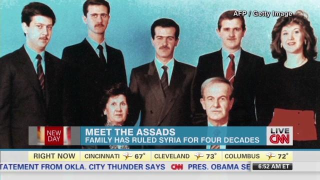 Understanding Syria's al-Assad family