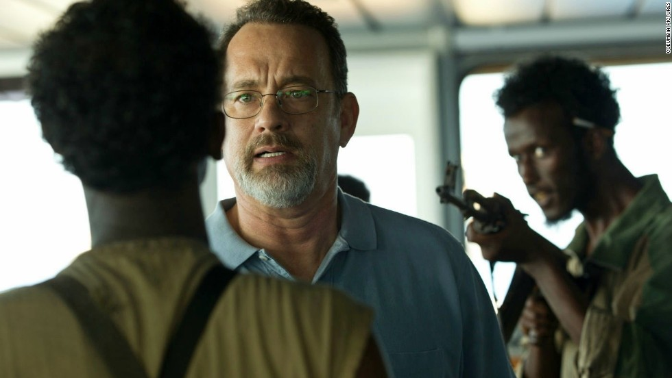 "Winner: Tom Hanks starred in two well-reviewed films, ""Captain Phillips"" (pictured) and ""Saving Mr. Banks."" He's been in the thick of awards talk."
