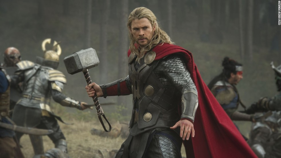 "<strong>""Thor: The Dark World"":</strong> The latest from the Marvel factory stars Chris Hemsworth, once again, as the Nordic god with the powerful hammer. This time he has to save the universe from a dastardly villain. Natalie Portman co-stars. (November 8)<br />"