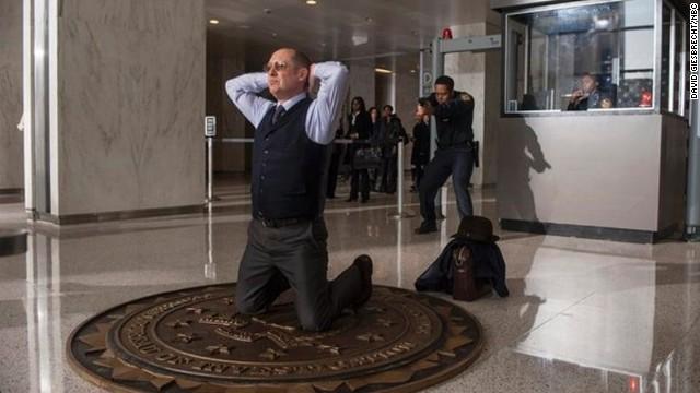 "James Spader stars in the NBC series ""The Blacklist."""