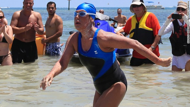 Diana Nyad's historic swim questioned