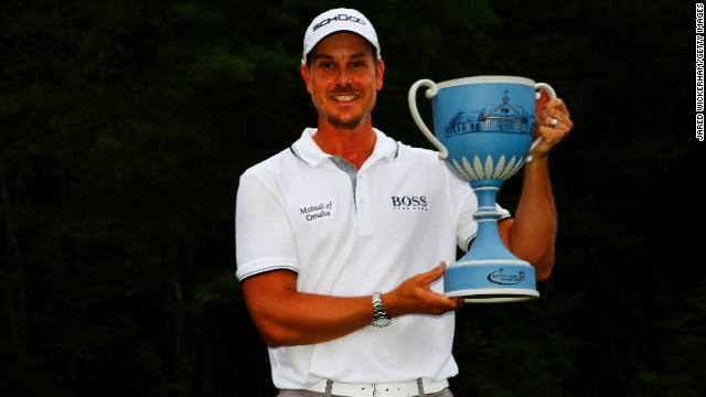 Sweden's Henrik Stenson turned pro in 1998 and joined the PGA Tour in 2007.