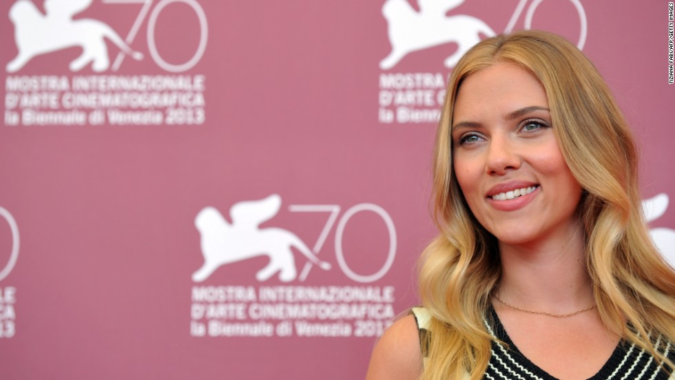 """Scarlett Johansson stars in """"Under the Skin,"""" presented in competition at the festival on September 3."""