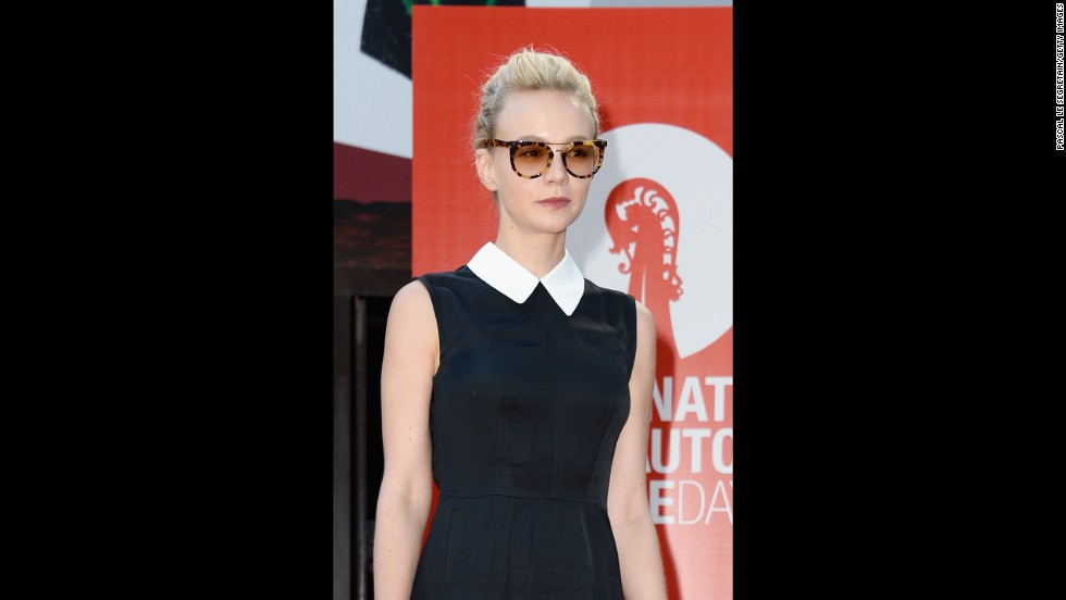Actress Carey Mulligan attends the Miu Miu Women's Tales on Thursday, August 29.