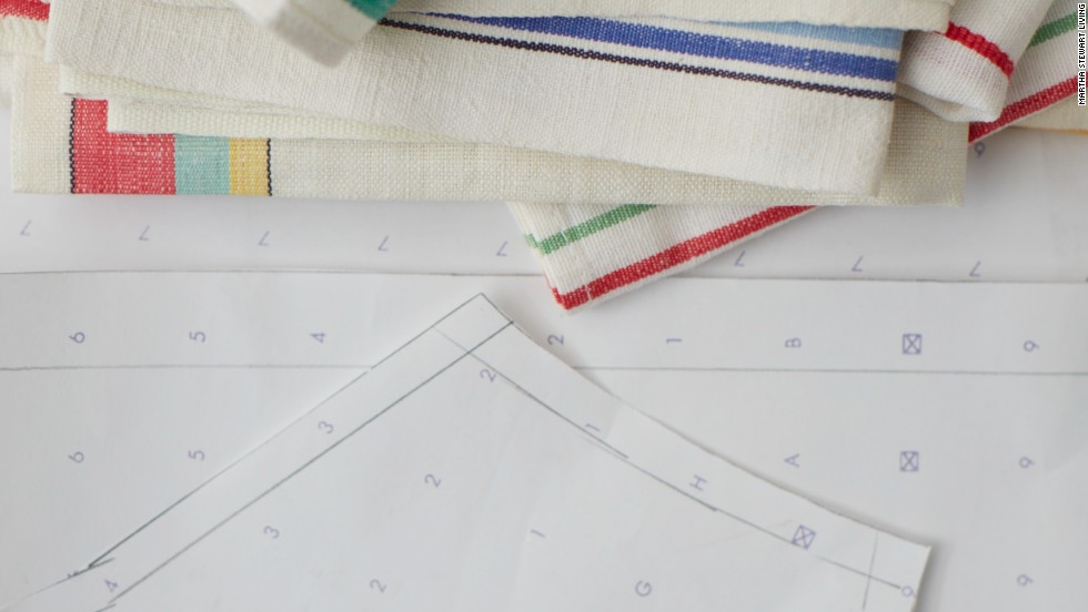 """Other uses for v!Ntage towels? Make """"lapkins"""" for picnics—copious enough for<br />the messiest fried chicken or barbecued ribs. If you are lucky enough to own yardage, turn it into café curtains for small windows in the mudroom, pantry, or powder room. Use the hand-embroidered types as liners for tea trays or serving trays."""