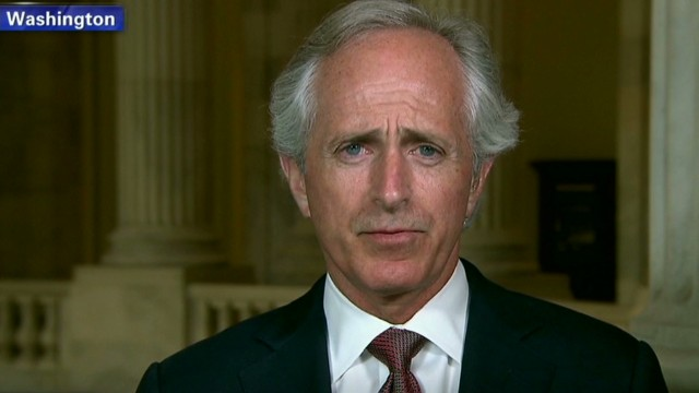 Senator: 'Embarrassed' on Syria reaction