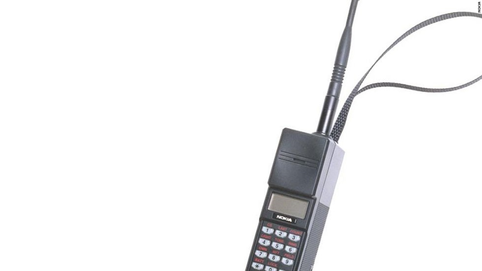 As Microsoft sets out to buy Nokia, CNN takes a look through some of the Finnish mobile giant's unique designs. Pictured here is the Nokia Mobira Cityman, announced in 1989.