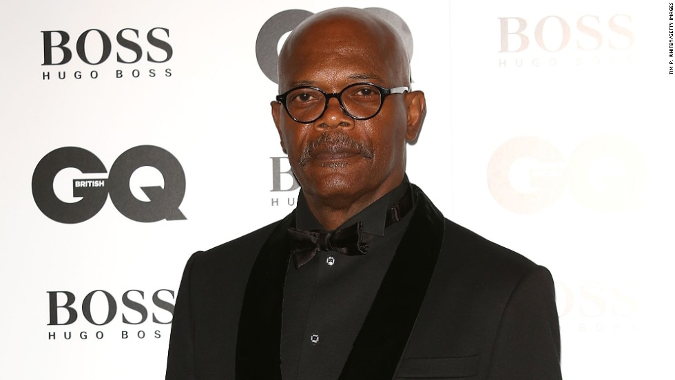 Samuel L. Jackson brought style to the GQ Men of the Year awards in London, England on September 3.