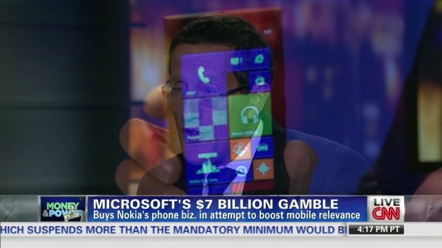Microsoft buys Nokia for $7.2 billion