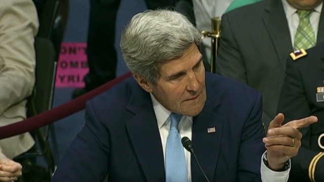 Tension as Paul, Kerry clash over Syria