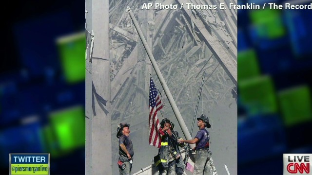 The story behind the missing 9/11 flag