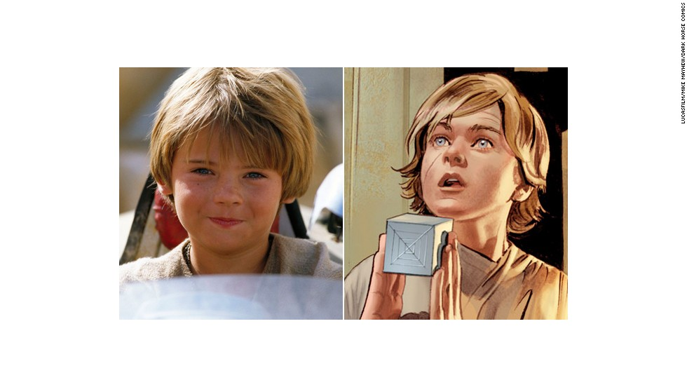 "There was a minor character named Deacon cut out of ""Star Wars Episode IV: A New Hope,"" but the closest thing to Deak in the films is probably the young Anakin of ""Episode I: The Phantom Menace."" The aspiring Jedi even exclaims ""Yippee!"" at one point."