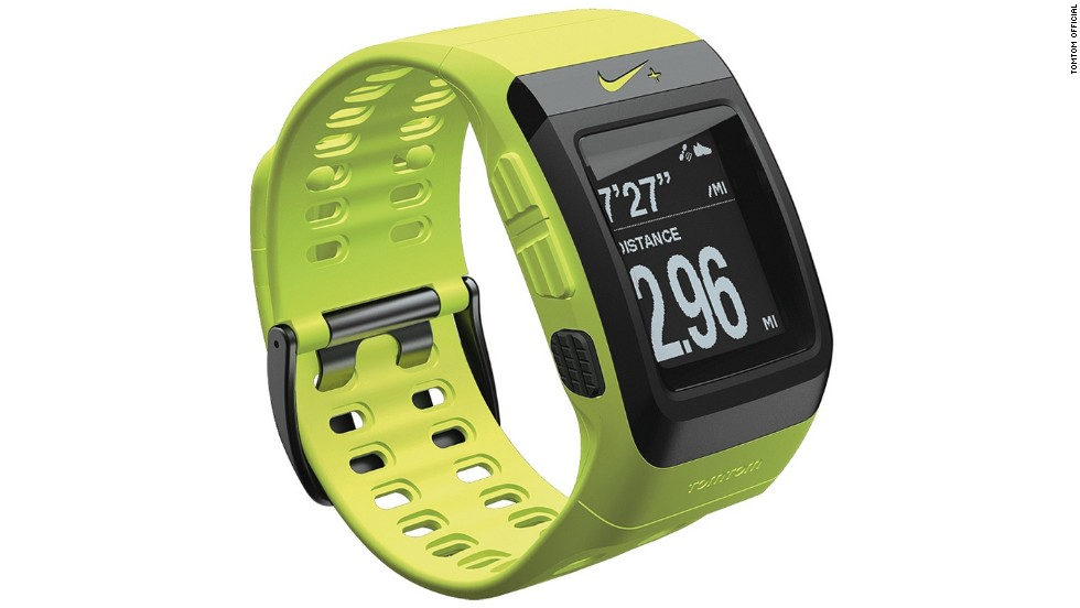 Unveiled by TomTom in 2013, the new Nike+ Sportwatch colors have been chosen to match Nike's apparel and shoe ranges. Features include an extra-large display, a graphical training partner and a one-button control. Colors include black/anthracite, anthracite/blue glow and volt green.