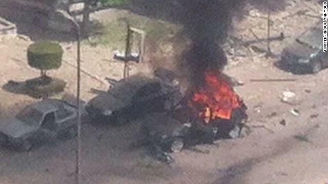 Car bomb blast shakes Egypt