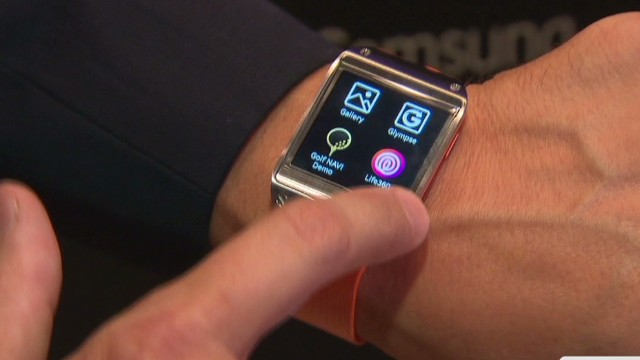 How does Samsung's smartwatch work?