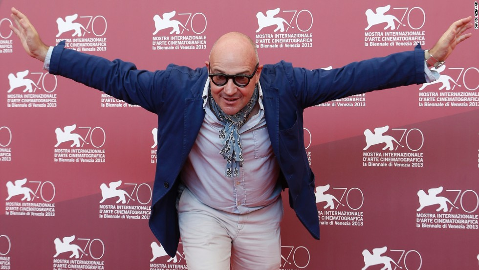 "Gianfranco Rosi, who directed the film ""Sacro GRA,"" appears at the festival on September 5."