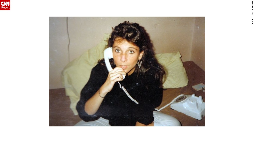 """MTV was the place to see, hear and learn about the world around us,"" said <a href=""http://ireport.cnn.com/docs/DOC-1020506"">Beth Barret</a>, a teenager living on New York's Upper East Side in the late '80s. She saved up money babysitting and working at David's Cookies to pay for a cable box in her room. Lots of time was also spent talking on this rotary phone with her best friends Nadine, Madeline, Valerie, Netty and Katie. (But don't tell her mom!)"