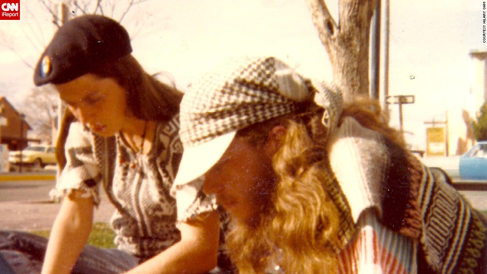 """Some called me and my friends granolas. Some called us hippies. We didn't care what we were called as long as no one told us what we should do,"" said Hilary Ohm, left. She was 24 years old in 1982 and very active in the anti-nuclear-power movement."
