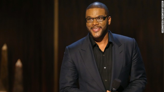 "Tyler Perry onstage at Spike TV's ""Eddie Murphy: One Night Only"" at the Saban Theatre on in 2012 in Beverly Hills, California."