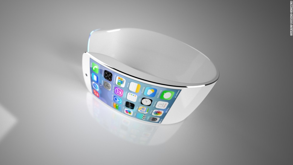 Also in the pipeline (not definitely but almost certainly) is an Apple smartwatch. They've given nothing away except a major harbinger in the form of a registered trademark - 'iWatch'. Predictions are a-plenty and this concept design by Federico Ciccarese is probably the most realistic one out there.