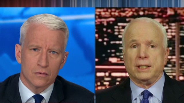 McCain: Congress has to be convinced