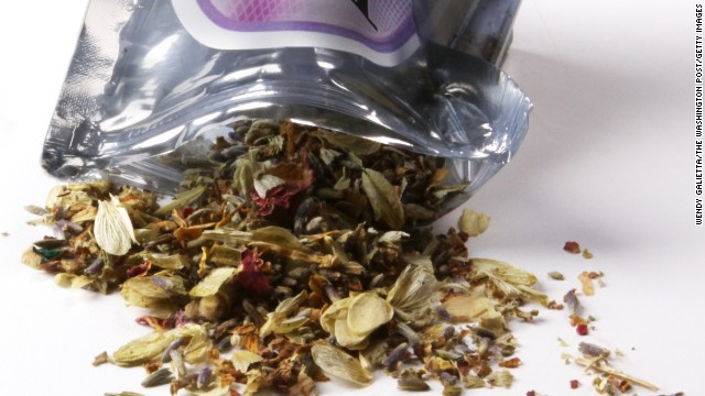 Outbreak linked to synthetic pot