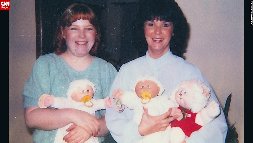 "<a href=""http://ireport.cnn.com/docs/DOC-1032306"">John Horgan</a> worked for Sears in the early '80s, when Cabbage Patch dolls were all the rage. ""Each time the store announced we had received a shipment, the buying frenzy would start. I can recall several fights breaking out as people pushed and shoved each other."" In 1983, he bought his wife and sister these Cabbage Patch kids and Koosa (the Cabbage Patch pet)."