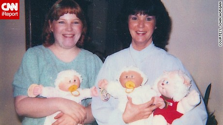 Cabbage Patch kids were all the rage in the 1980s