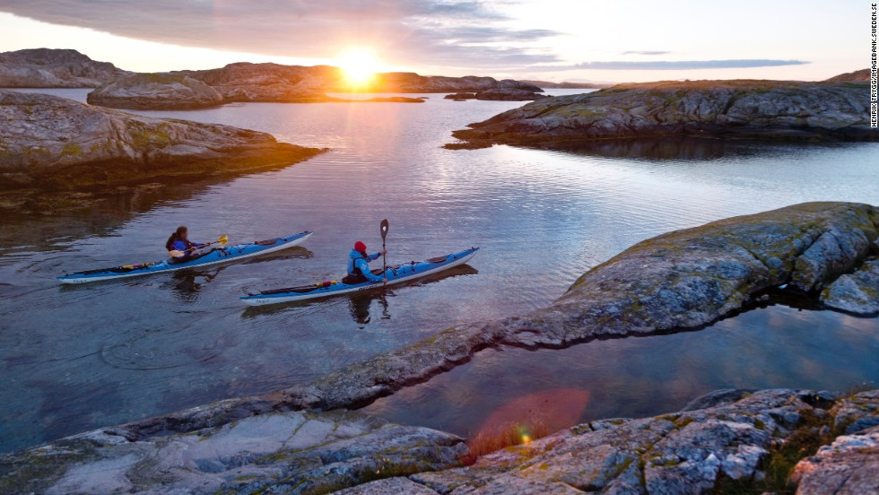 Paddle-mad Swedes love hitting Bohuslän -- kayaks under arm -- but the region is big enough, in one of Europe's biggest countries, that you can easily find a spot to yourself.