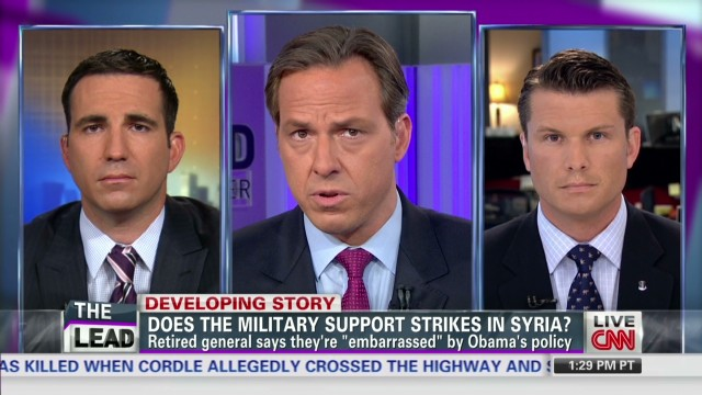 Two veterans square off on Syria