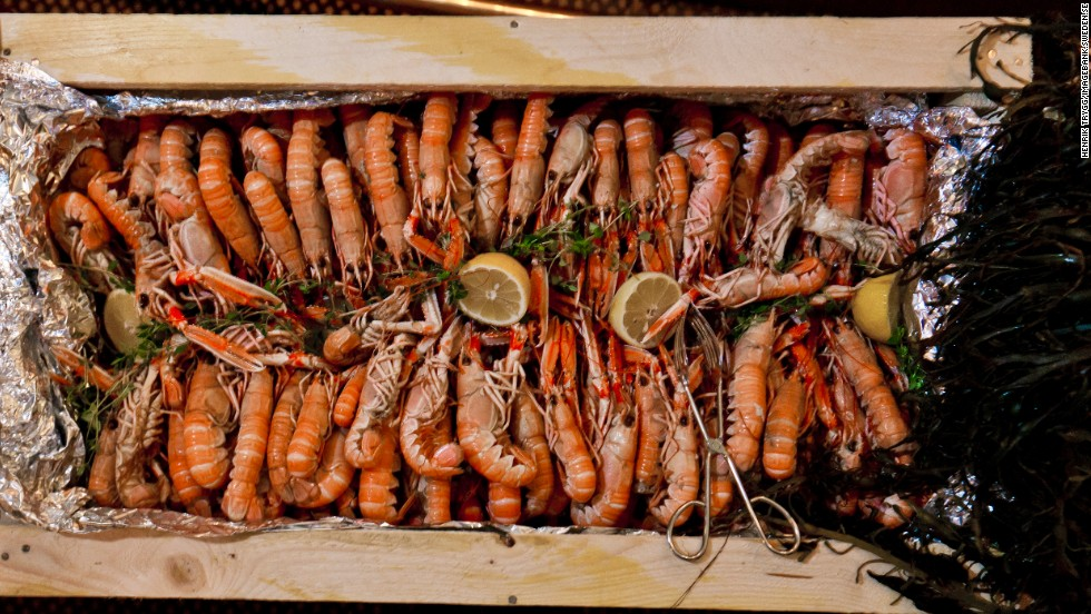 """Every year I travel to the west coast of Sweden to Smogen,"" says chef Bjorn Frantzen of Restaurant Frantzen in Stockholm. ""They have the best langoustines. You cook them with dill and beer and it's probably the best meal you will ever enjoy."""