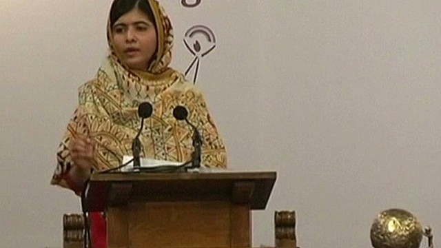 Malala Yousafzai wins children's peace prize