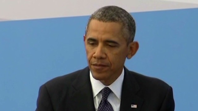 Reporters press Obama on Syria vote