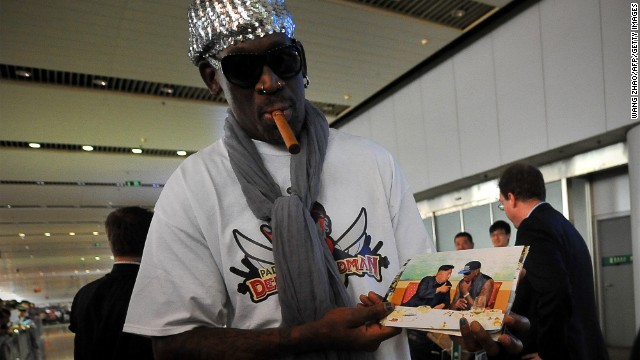 How real is Rodman's b-ball diplomacy?