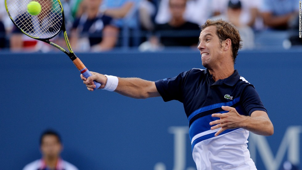 The Spaniard was a comfortable straight-sets victor against French ninth seed Richard Gasquet, who was playing his first grand slam semifinal since 2007.