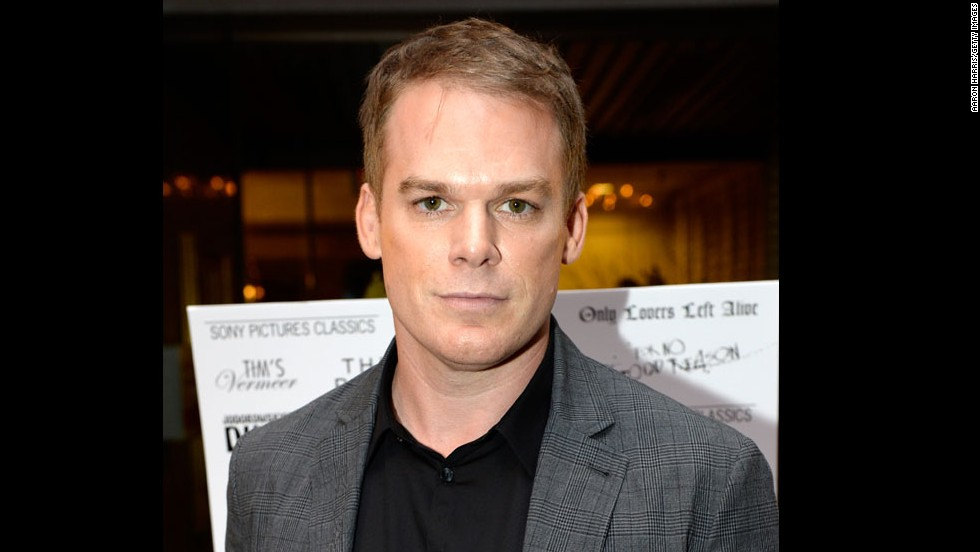 Actor Michael C. Hall attends the Sony Pictures Classics' cast dinner on September 7.