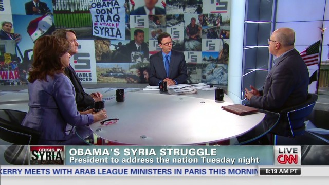 Obama's Syria struggle
