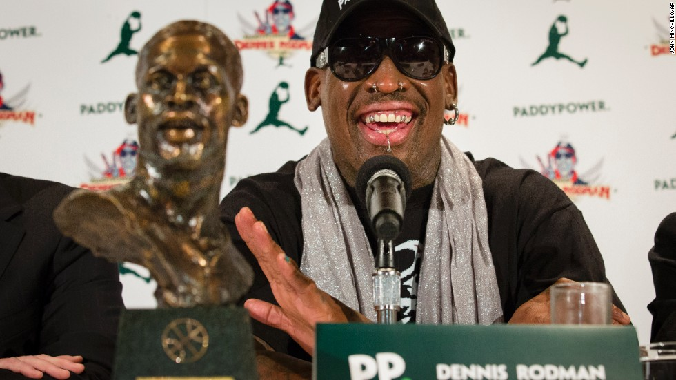 Rodman announced plans to stage two exhibition games in North Korea in January. He plans on going back to North Korea, and said he will bring a team of former NBA players with him.