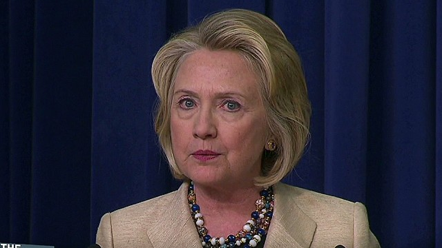 Hillary Clinton speaks up on Syria