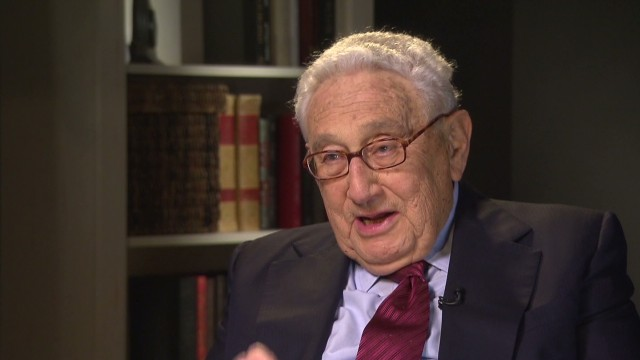 Kissinger: I support Obama on Syria