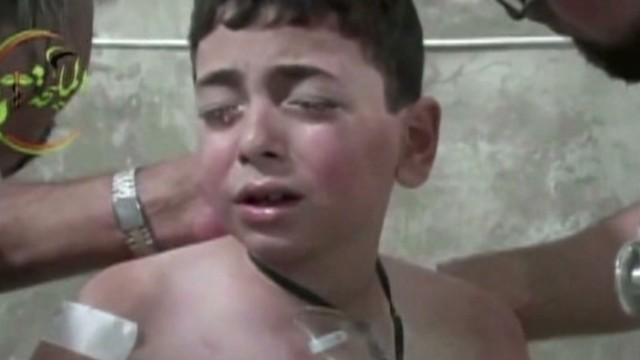 Evidence of chemical attack in Syria
