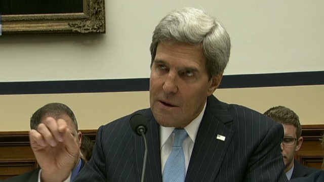 Kerry: Obama's priority is diplomacy