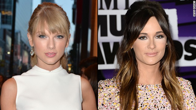 Taylor Swift and Kacey Musgraves lead the nominations for the 47th annual CMA Awards.