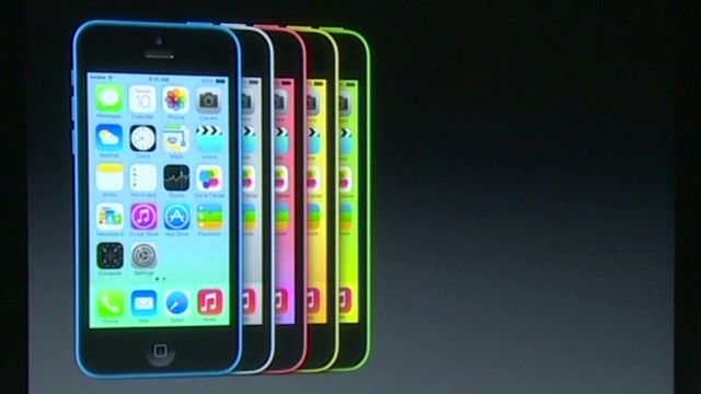 Check out Apple's new iPhone 5C