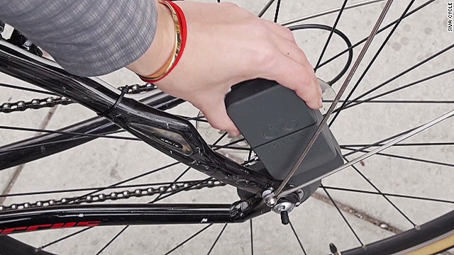 Power your smartphone by pedaling