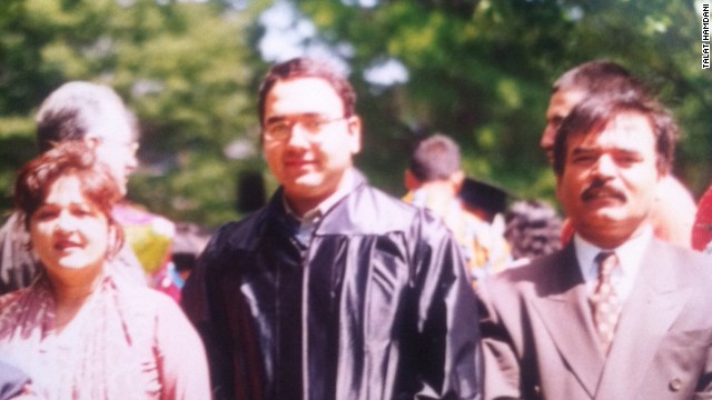 Mohammad Salman Hamdani at graduation in June 2001.