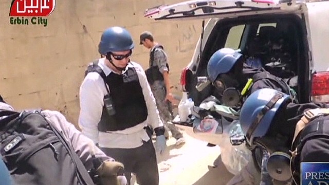 Finding Syria's chemical weapons